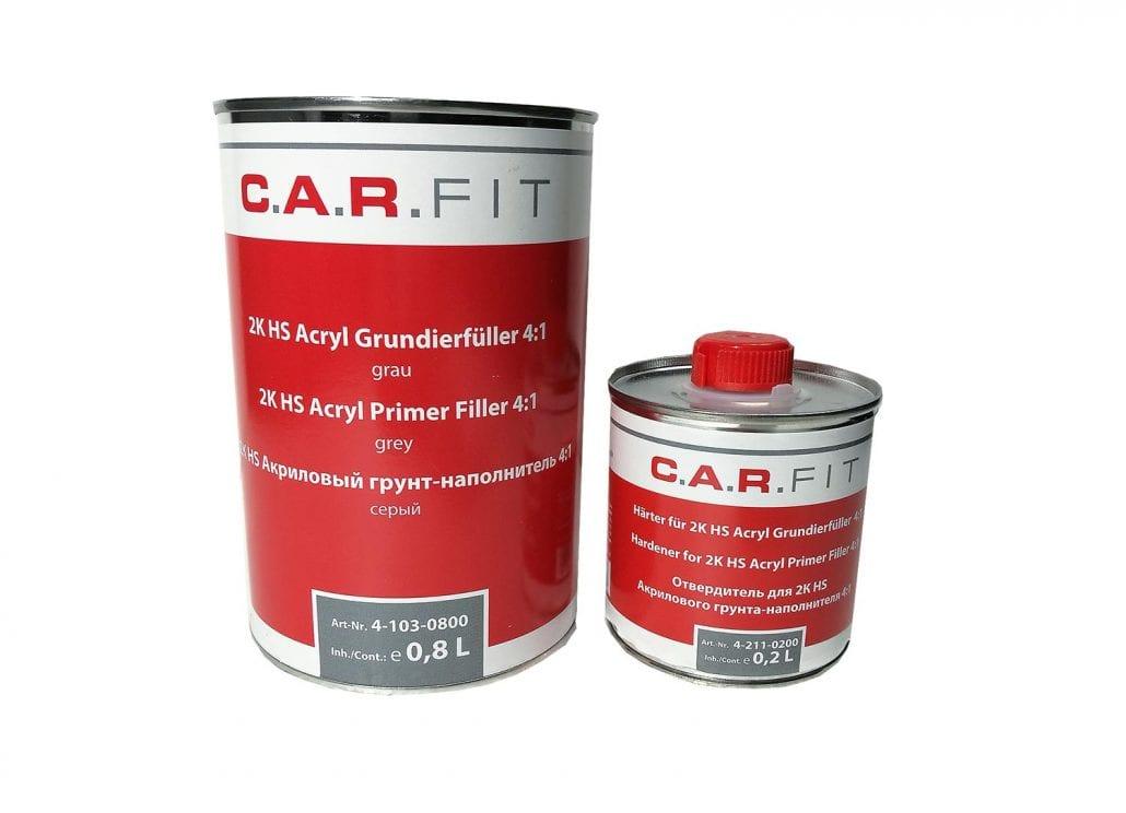 Carfit 2K HS Acryl Grundierfüller Primer 4:1 grau